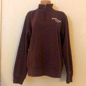 Unisex 1/4 Zip Pullover Triblend Sweater